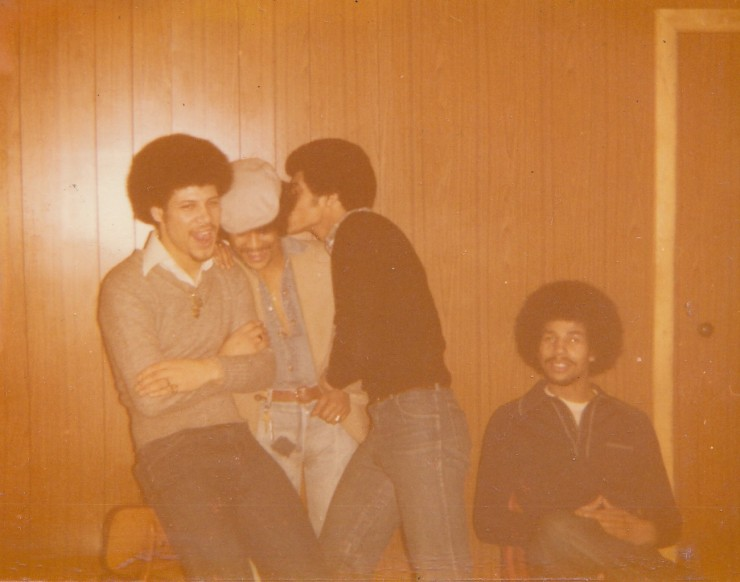 Marcus Derrick unknown whispering in the Reno Tony Bellows sat down 1976